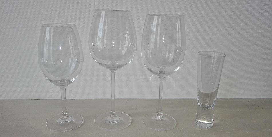 Ideale wijnglas