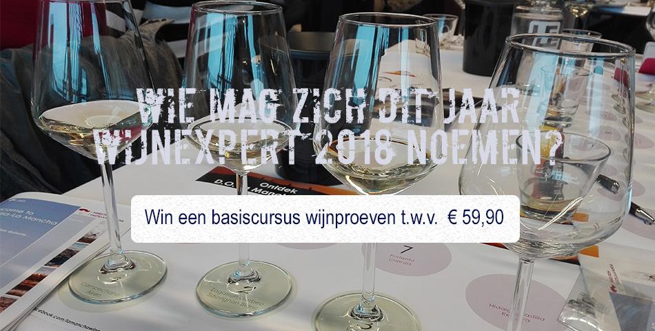 Win een basiscursus wijnproeven