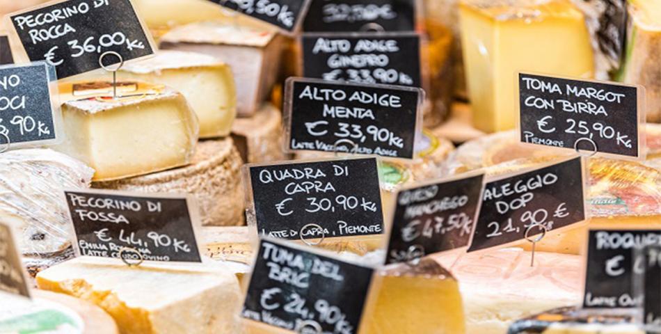 Italiaanse kazen en wijn